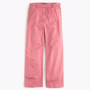 J.Crew Rayner Cropped Chino in Warm Rose NWT!