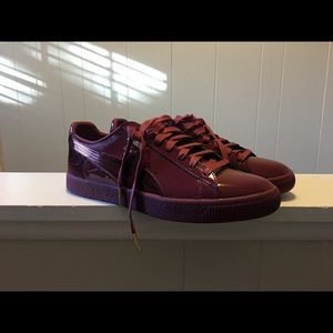 Puma Clyde Wraith Pack - Cordovan Patent Leather
