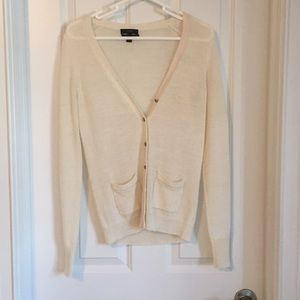 Cozy white J.Crew Sweater