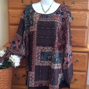 North Style Gorgeous Tunic NWT