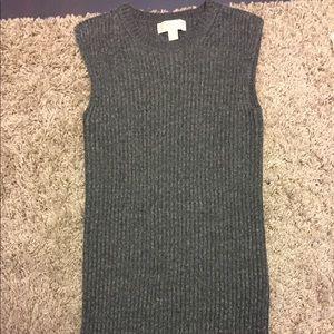 Michael Kors Dress XXS Gray Sweater Dress