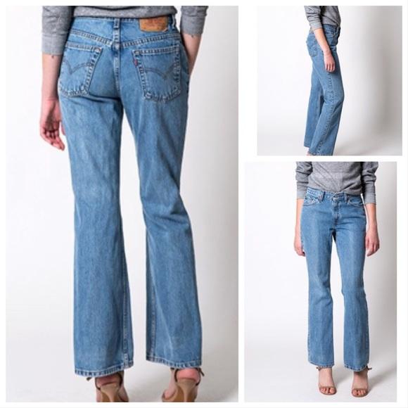 1002d47a Levi's Jeans | Vintage Levis 517 Medium Wash High Rise Mom Boot ...