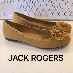 ⭐️JACK ROGERS SUEDE FLATS 💯AUTHENTIC