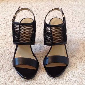 Ann Taylor Leigh Mesh Slingback Heels