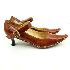 Matiko leather buckled shoe leather