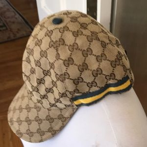 Gucci Accessories - Classic Gucci Monogram Adjustable Baseball Hat Cap c9d82ffa558