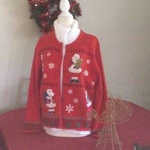 Designers Originals Santa sweater, PL