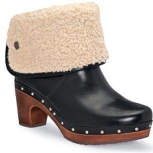 Ugg Sheepskin Lynnes Ankle Boots