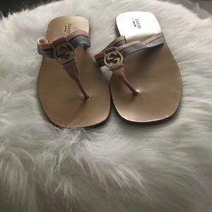 Gucci Nylon flip flop