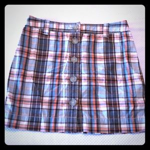 J. Crew size 2 plaid skirt