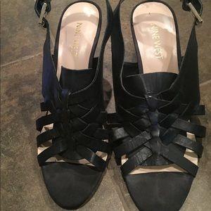 Nine West sling back sandals