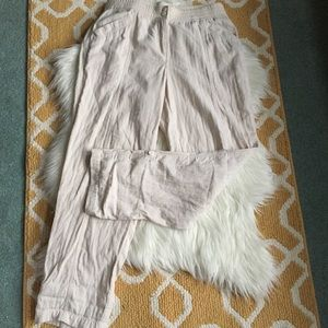 j. jill 100% cotton pants size 8