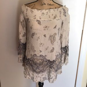 Women, urban outfitters paisley shirt