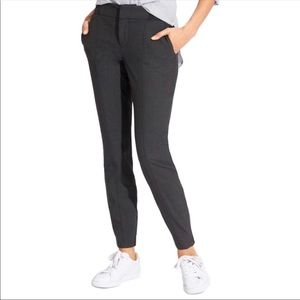 Athleta wool work in city pant charcoal