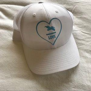 White Love Hat