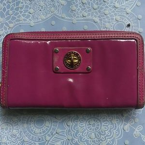 Pink patent leather Marc By Marc Jacobs wallet