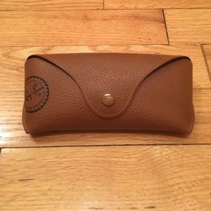 Brown Leather Ray-Ban Sunglasses Case