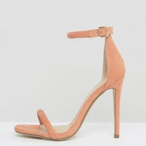 NWT Missguided Strap Barely There Sandals