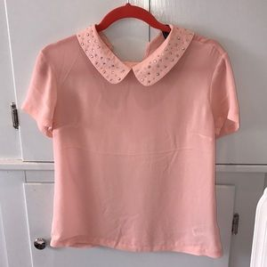 Forever21 blouse. Size small pink