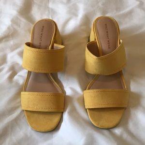 Stewpot Sandal Wedges