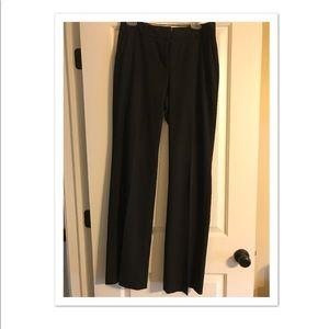 Ann Taylor Black Trousers Size 4 TALL