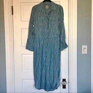 Maeve Anthropologie shirt dress, size 4