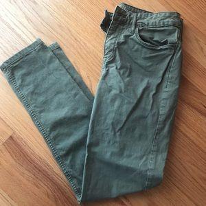 Ck Jeans army green pants