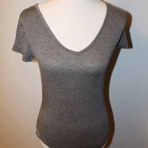NWT Grey T-shirt Bodysuit