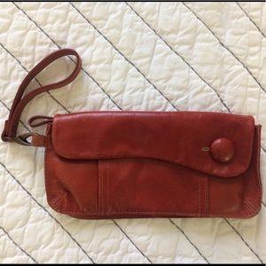 Red Clutch/Wristlet
