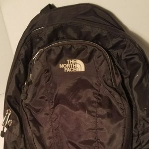 Full size North Face backpack black excellent