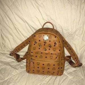 Mcm backpack orange