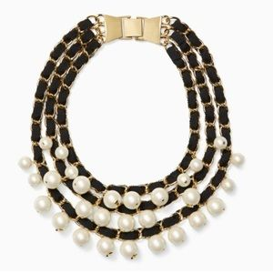 Kate Spade French Twist 3 strand pearl necklace
