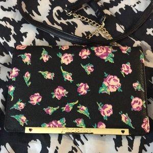 Betsey Johnson Floral Crossbody
