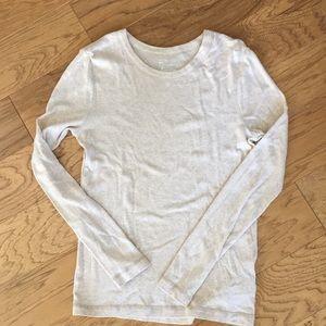 GAP long sleeved t-shirt EUC tan size large