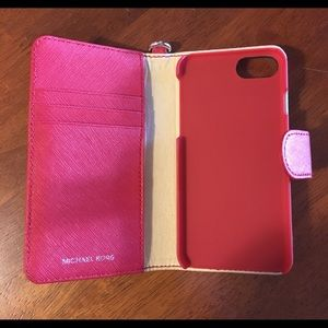 iPhone 6 and 7 Michael Kors credit card case
