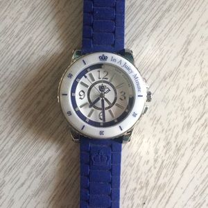 NWOT Juicy Couture Watch Navy