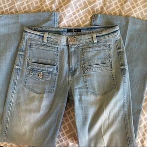 7 For All Mankind Bootcut Jean 28 x 30