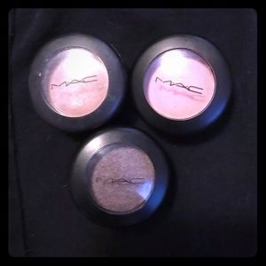 Three Mac Eyeshadows
