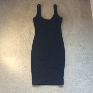 NEW American Apparel S backless bodycon mini dress