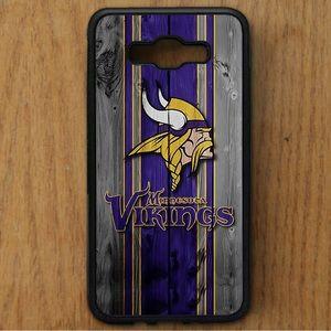 Minnesota Vikings Samsung Galaxy J7 Rubber case