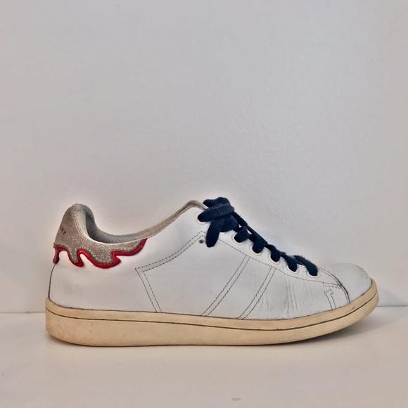 Isabel Marant Shoes | Celeb Fav Bart Two Tone Sneaker | Poshmark