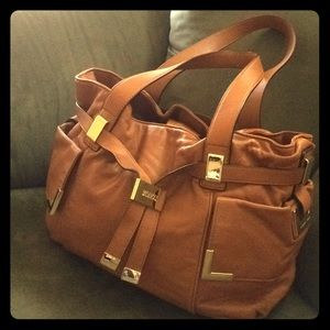 Like new Michael Kors leather bag!