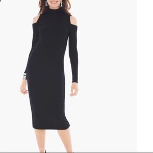 Dresses & Skirts - Midi black dress