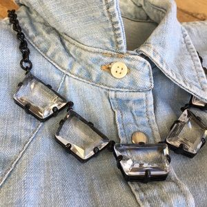 J. Crew statement crystal necklace