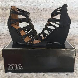 NIB MIA Wedge Sandals