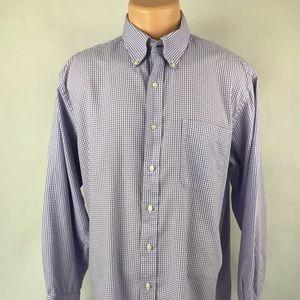 Tommy Hilfiger Lavender Plaid Long Sleeve Shirt