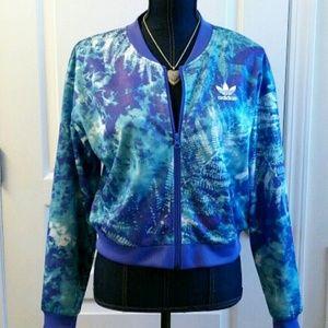 💎NWT Adidas Ocean Elements Crop Jacket