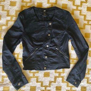 🍁SALE🍁H&M Canvas Moto Jacket