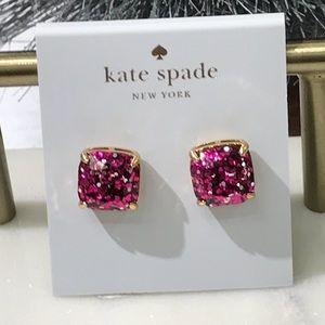 Kate spade holiday confetti earrings NWOT