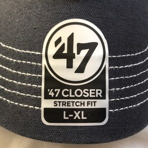 the latest f721c d0889 47 Accessories - NEW Fitted Prospect  47 Red Sox Navy Mesh Hat